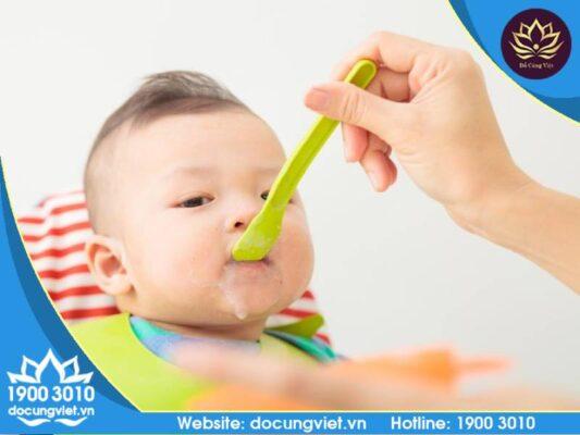 Kiến thức về chế độ ăn dặm cho bé