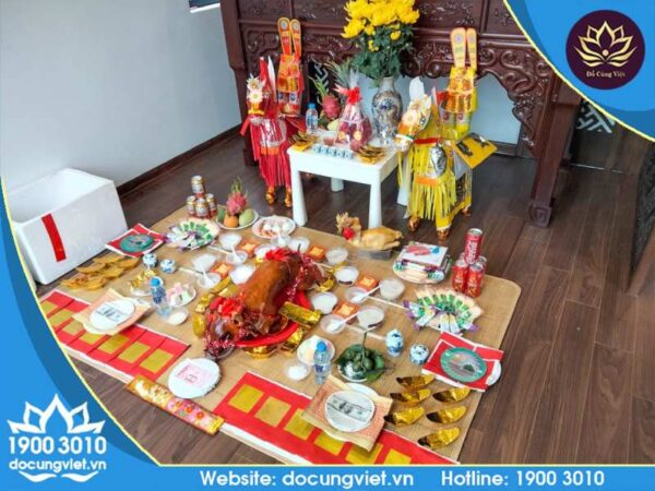 Đồ Cúng Việt - Mâm cúng theo yếu cầu chuẩn tâm linh