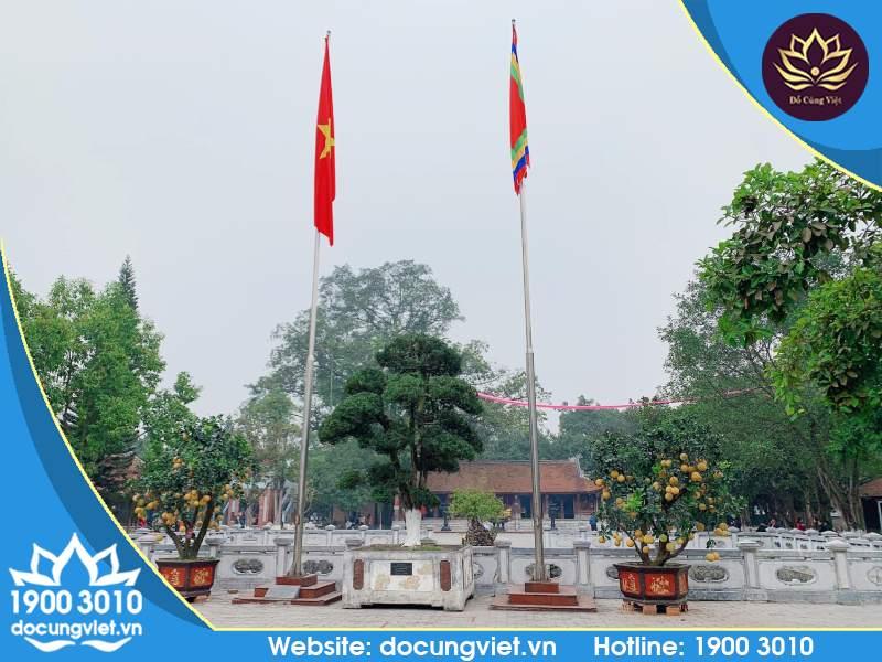 Đền Mẫu Âu Cơ ở Huyện Hạ Hòa