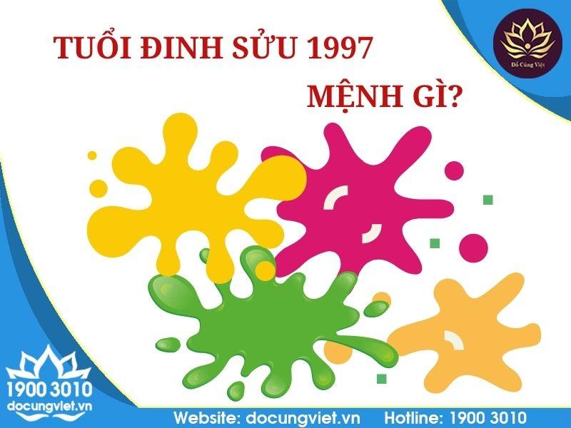 Tuổi Đinh Sửu 1997 hợp màu nào?